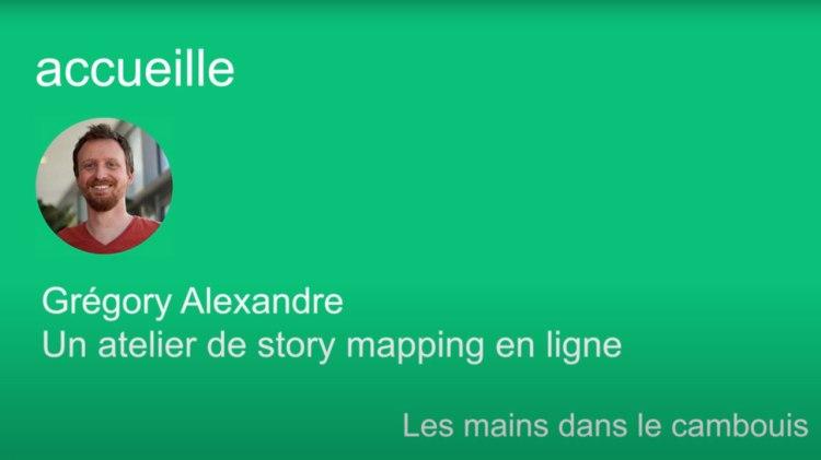 """Vidéo agile en ligne """"Un atelier de Story mapping en ligne"""